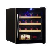 46л Винный шкаф на 16 бутылок с 1-ой температурной зоной Cold Vine C16-TBF1
